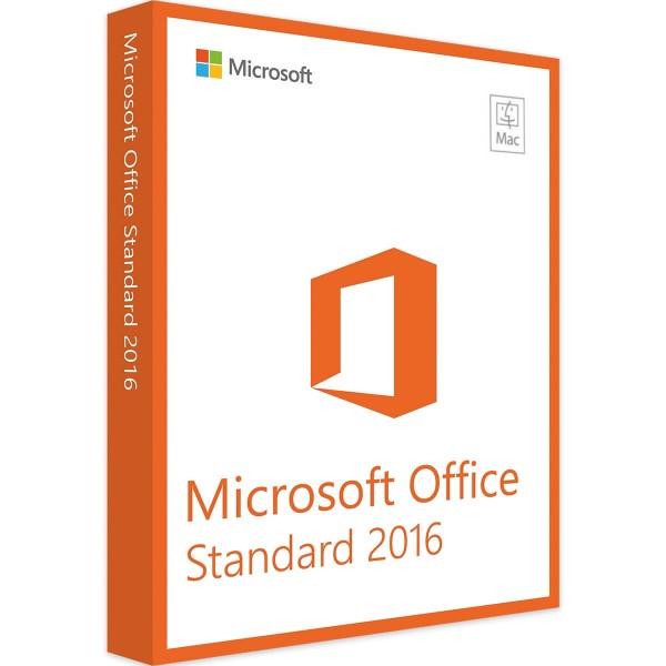 Microsoft Office 2016 Standard für Mac