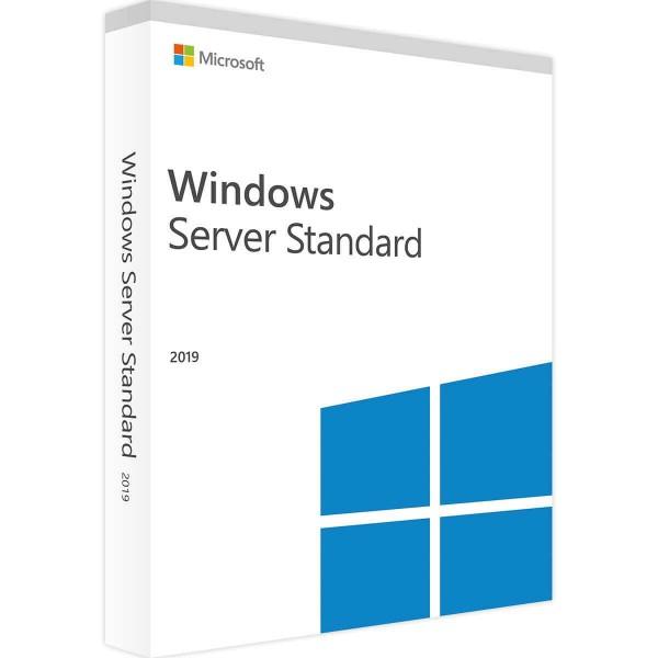 Microsoft Windows Server 2019 Standard 16 Core (Audit-Sicher)