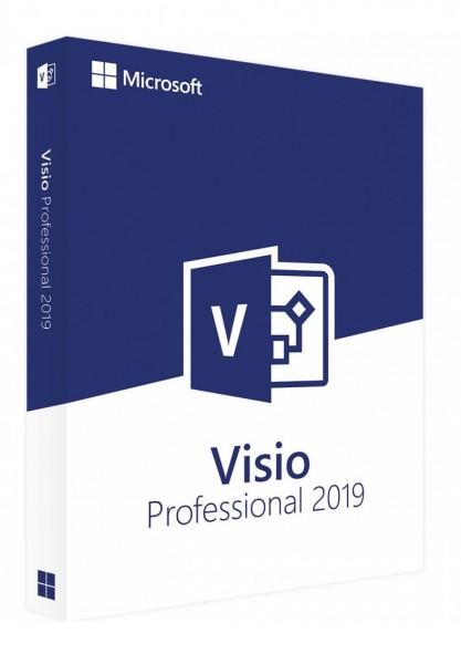 Microsoft Visio 2019 Professional (Audit-Sicher)