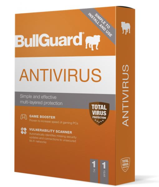 BullGuard Antivirus 1PC - 1Jahr 2021