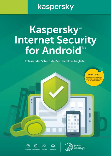 Kaspersky Internet Security für Android (1 Device - 1 Jahr)