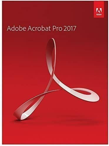 Adobe Acrobat 2017 Pro für Mac/ Win (EN)