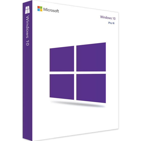 Microsoft Windows 10 Professional N (Audit-Sicher)