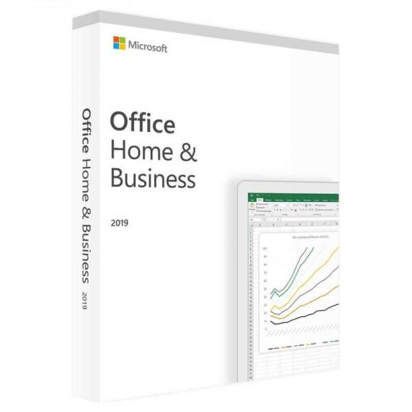 Microsoft Office 2019 Home & Business für WIN / MAC