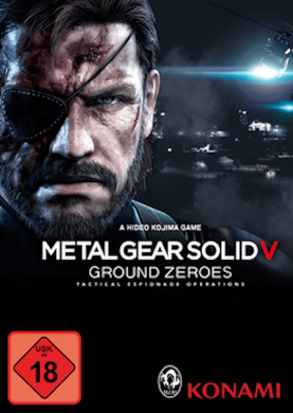 Metal Gear Solid V: Ground Zeroes - Steam Download Code