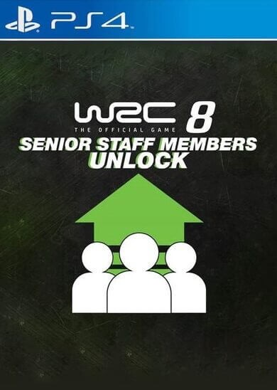 WRC 8 - Staff Member (DLC) PS4