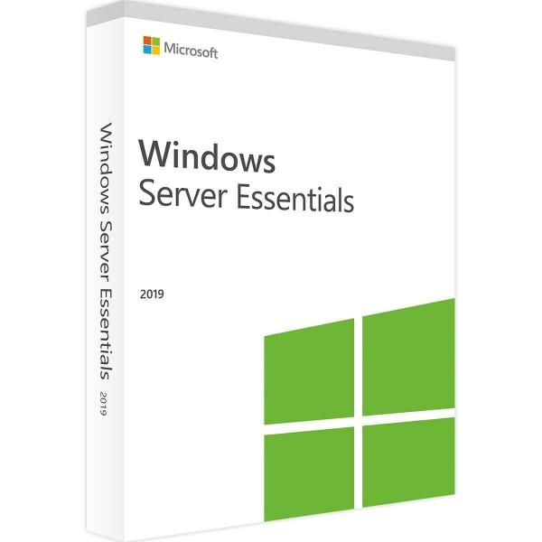 Microsoft Windows Server 2019 Essentials (Retail)