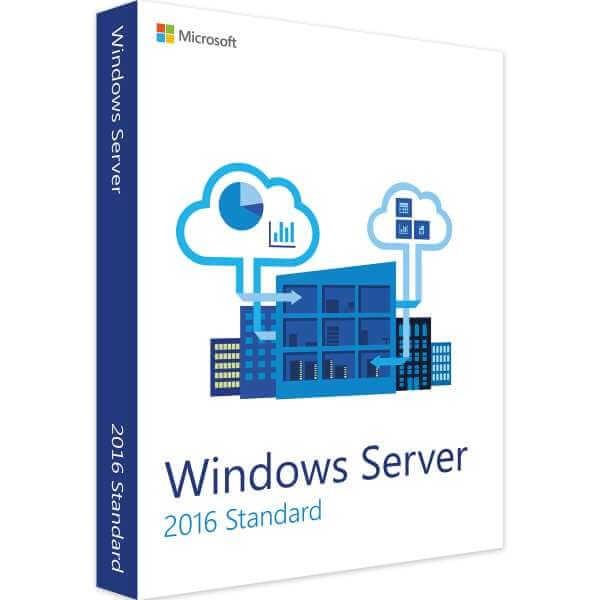Microsoft Windows Server 2016 Standard 16 Core (Audit-Sicher)
