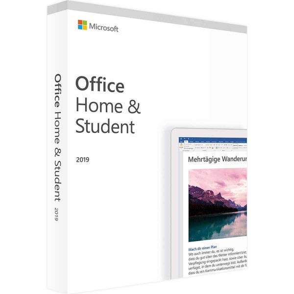 Microsoft Office 2019 Home & Student PC (Win)