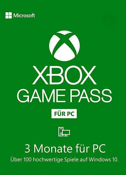 Xbox Game Pass für PC - 3 Monate