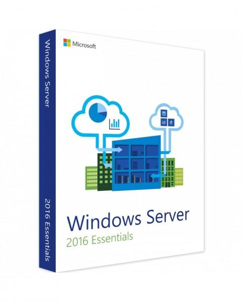 Microsoft Windows Server 2016 Essentials (Retail)