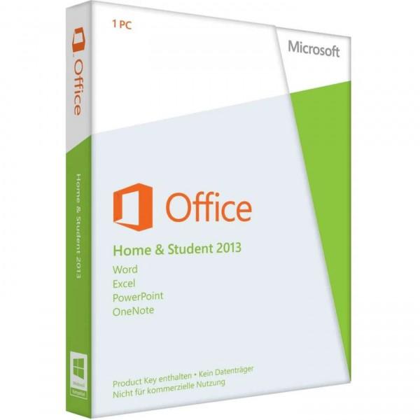 Microsoft Office 2013 Home & Student (PKC Box) (deutsch)